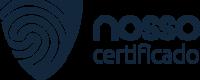 Logotipo azul marinho da Nosso Certificado